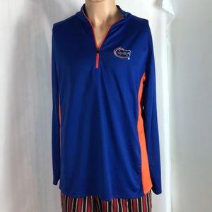 Florida Gaters 1/4 Zip Warm Up Jacket Size L